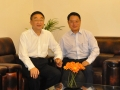 2014-DG meeting with CHEN Lei, Minister of Water Resources of China