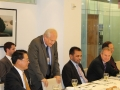 """2014-DG during a lunch meeting with the New York-based """"Friends of ISID"""""""