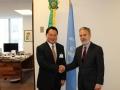 2014-DG with Antonio Aguiar Patriota, Permanent Representative of Brazil to the United Nations