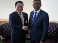 2014-DG and the President of Madagascar