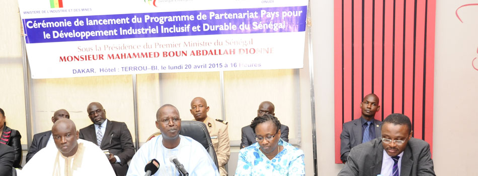 Senegal Prime Minister officially launches UNIDO's Programme for Country Partnership